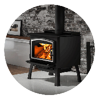 Wood Fireplace Stoves