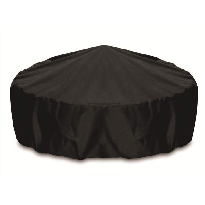 Two Dogs Designs Round 60 Inch Black Fire Pit Cover