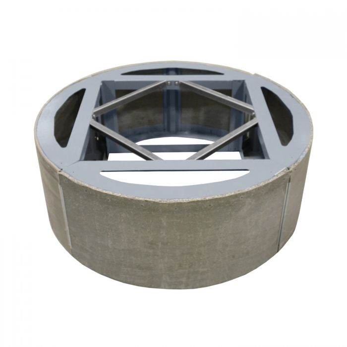 Firegear ANFR42 Assemble and Finish Round Fire Pit Enclosure, 42-inch