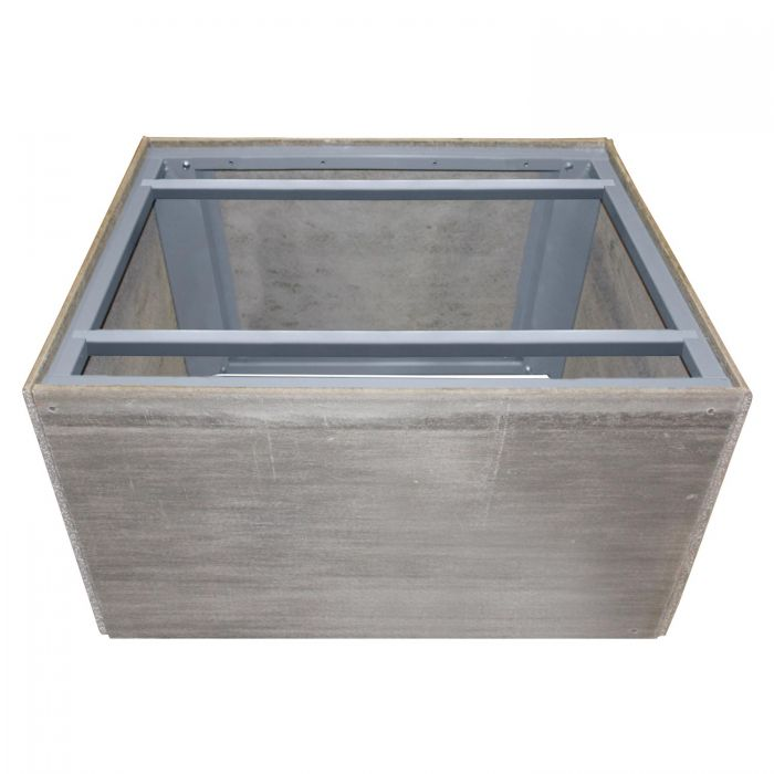 Firegear ANFS60 Assemble and Finish Square Fire Pit Enclosure, 60-inch