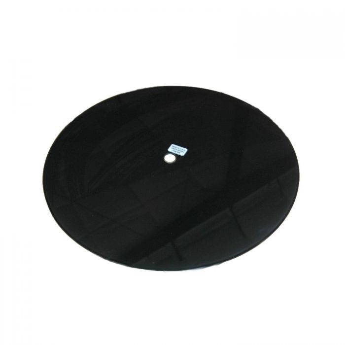The Outdoor GreatRoom Company CFT-GLASS Glass Burner Cover for CF-20 Burner, Black, 21x21-Inches