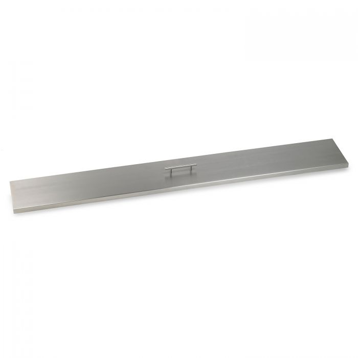 American Fireglass Drop-In Pan Cover, Linear, 60 Inch