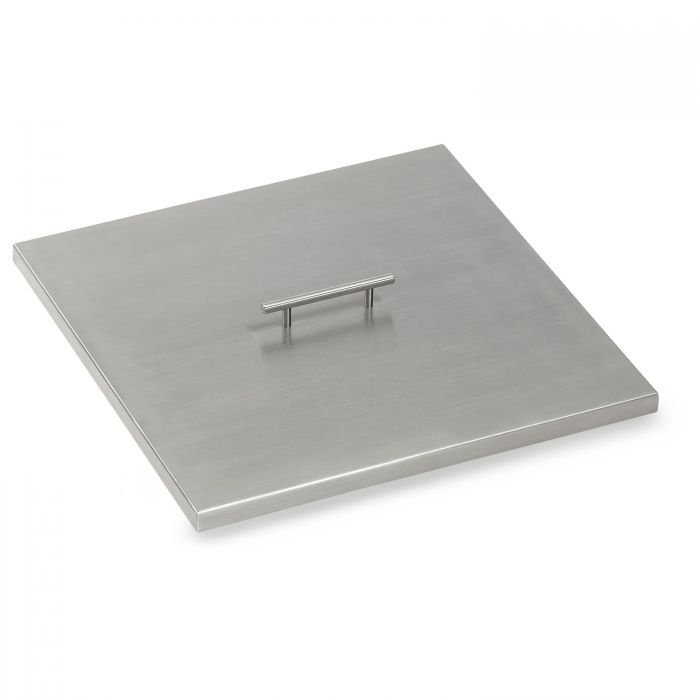 American Fireglass Drop-In Pan Cover, Square, 18 Inch
