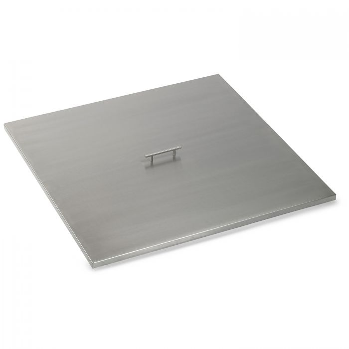 American Fireglass Drop-In Pan Cover, Square, 36 Inch