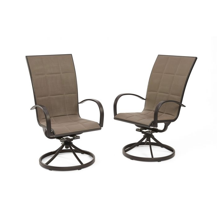 The Outdoor GreatRoom Company EMPIRE-DINE Empire Dining Chairs, Set of 2