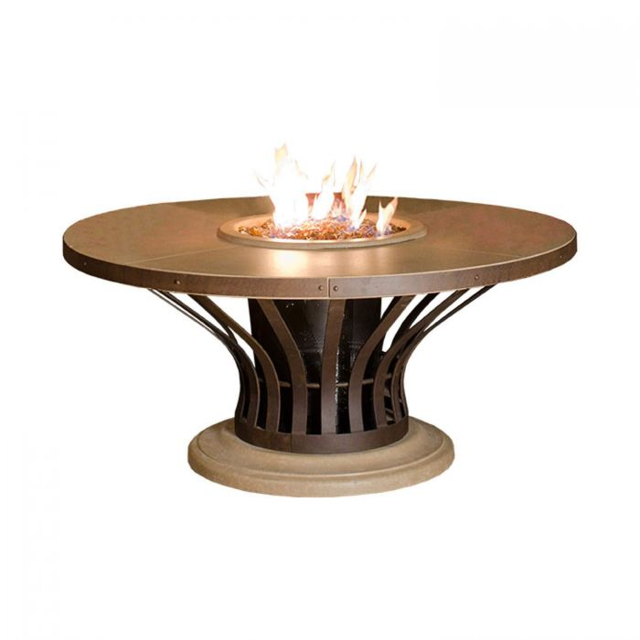 American Fire Designs Fiesta Chat Height Firetable