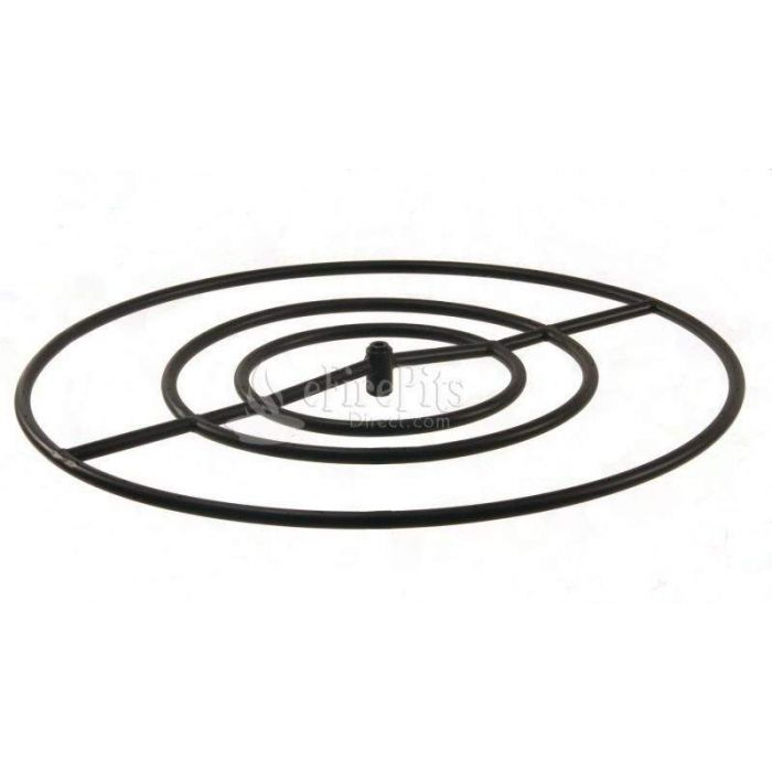 Hearth Products Controls Round Black Iron Fire Pit Burner, 30-Inch, Propane
