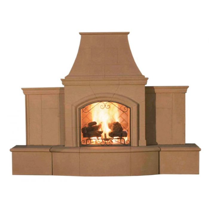 American Fyre Designs Grand Phoenix Outdoor Gas Fireplace