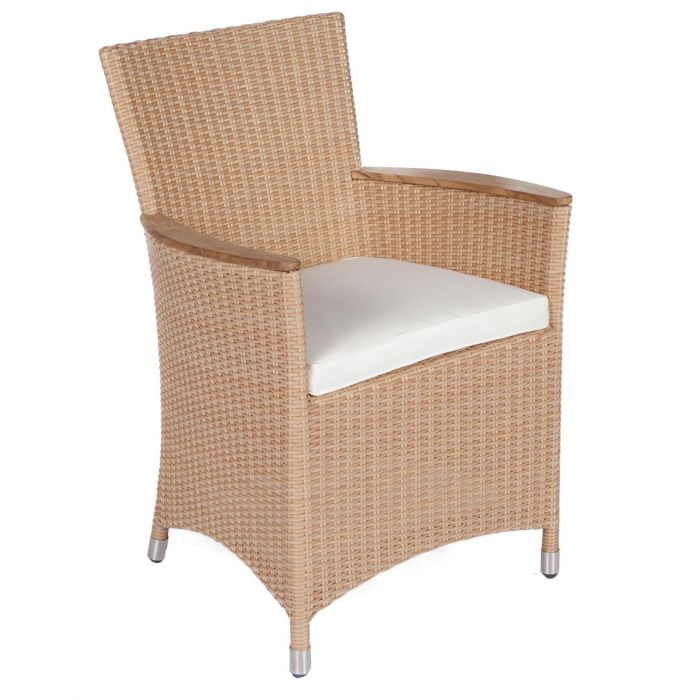 Royal Teak Collection HEFW Helena Full Weave Wicker Chair