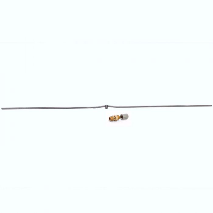 Hearth Products Controls Linear Stainless Steel Fire Pit Interlink Burner, 96-Inch, Propane