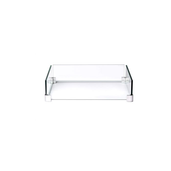 Napoleon Glass Wind Screen for MADR2 Fire Table, 23 x 23-inches