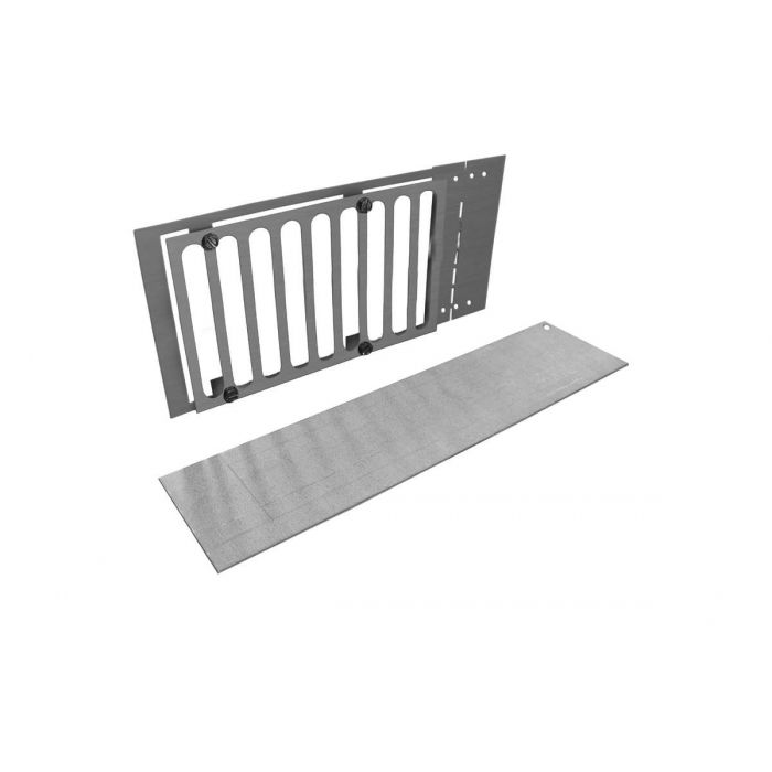 Firegear PAVER-VENT-6-LNTS Paver Vent Kit with Mounting Plate and Lintel, 5.625x8-inches