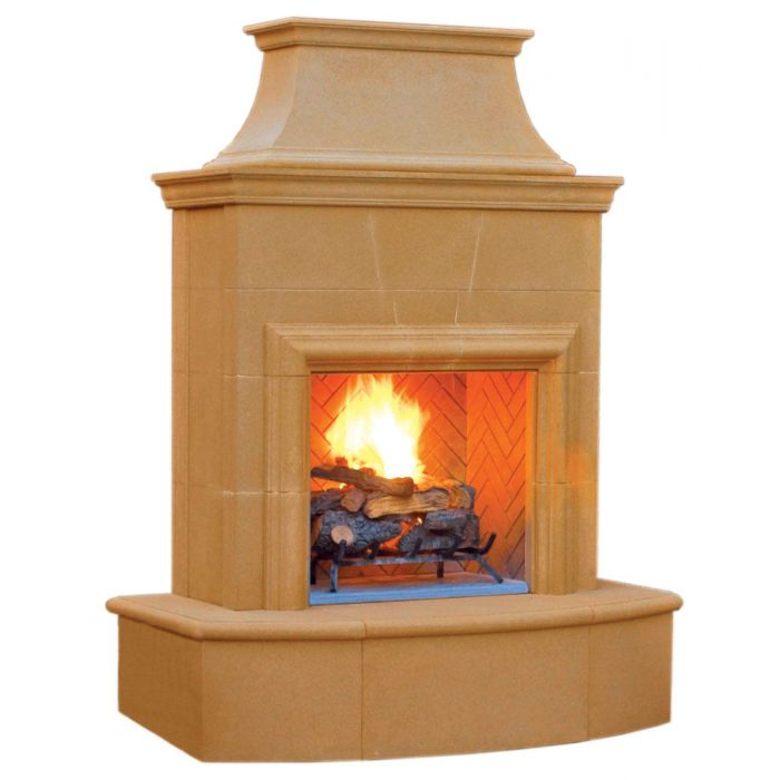 American Fyre Designs Petite Cordova Outdoor Gas Fireplace