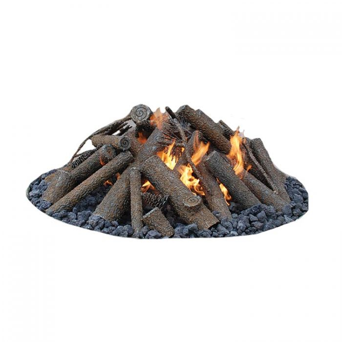 Warming Trends Steel Log Set for 18-Inch Fire Pit