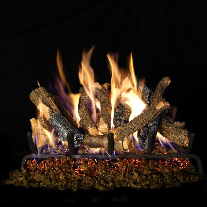 Real Fyre CHDS Charred Oak Stack Vented Gas Logs