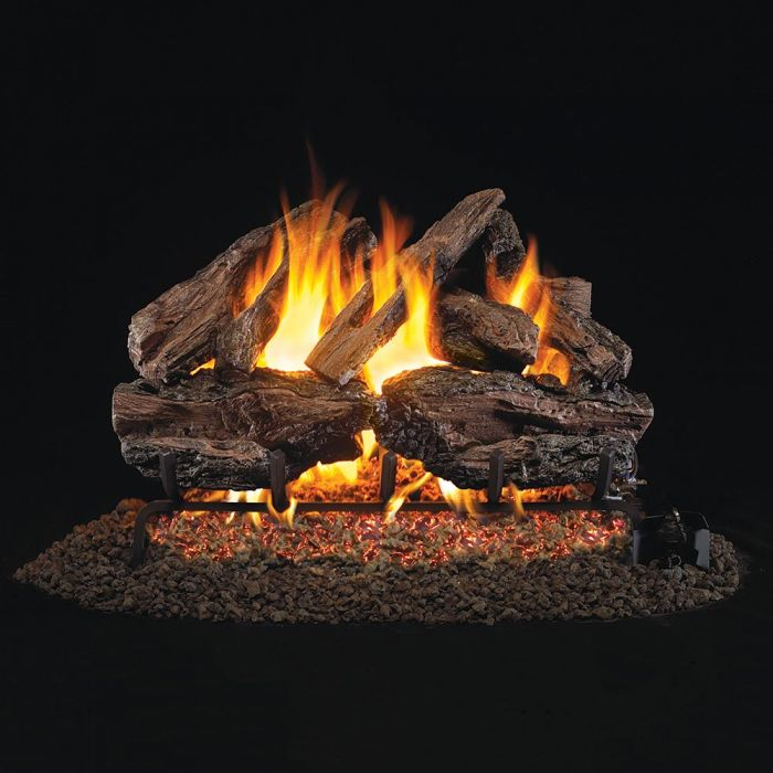Real Fyre CHRED Charred Red Oak Vented Gas Logs