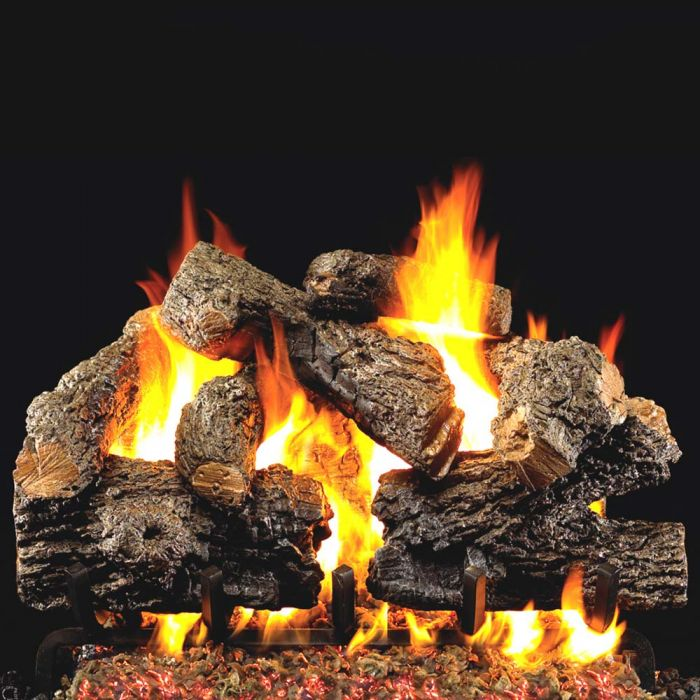 Real Fyre CHB Charred Royal English Oak Vented Gas Logs