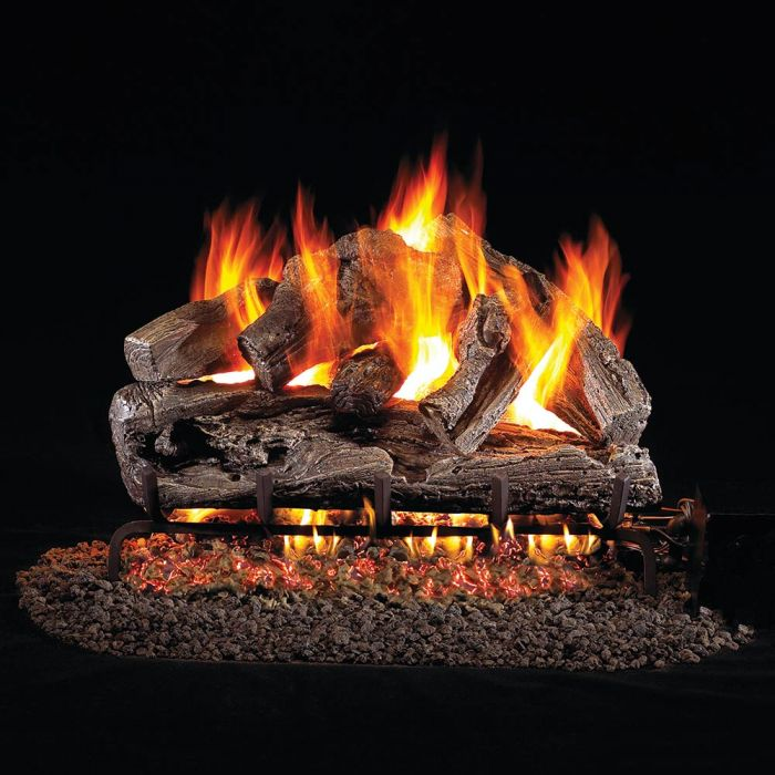 Real Fyre RRO Rugged Oak Vented Gas Logs