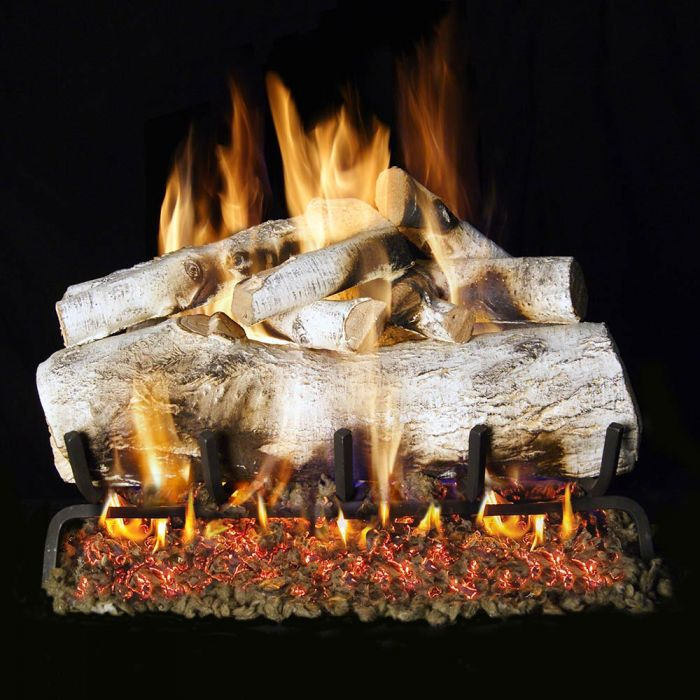 Real Fyre MBW Mountain Birch Vented Gas Logs