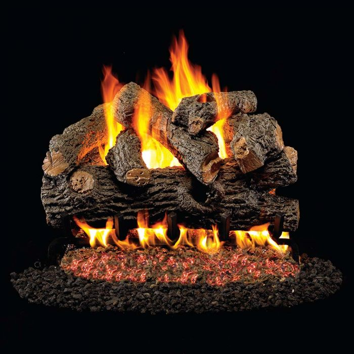 Real Fyre BD Royal English Oak Designer Vented Gas Logs