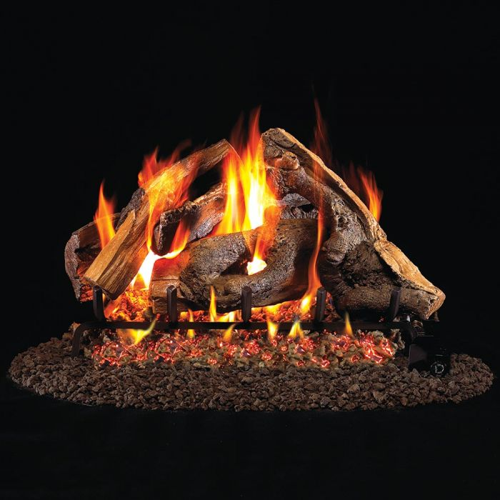Real Fyre WS Woodstack Vented Gas Logs