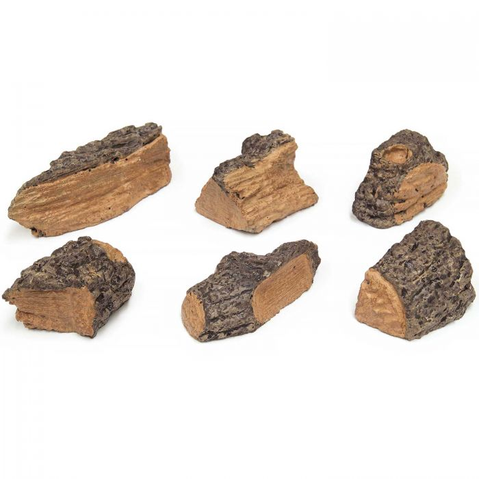 Real Fyre WC-6 Wood Chips, Set of Six