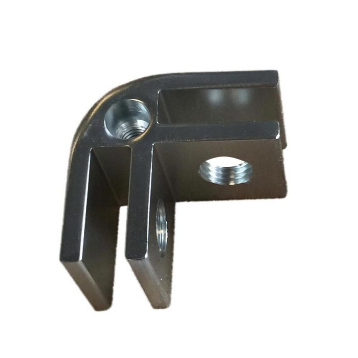 Hearth Products Controls WG-CC-SQ-RECT Replacement Chrome Corner Clip for Square or Rectangle Wind Guards