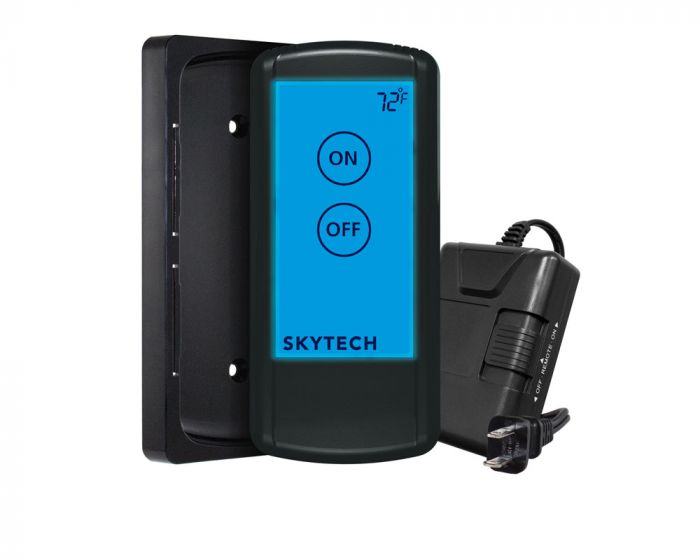 Skytech 5010 On/Off Fireplace Remote Control with Backlit Touch Screen