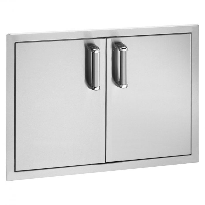 Fire Magic Premium Flush Double Doors with Tank Tray and Dual Drawers, 21x30.5 Inch