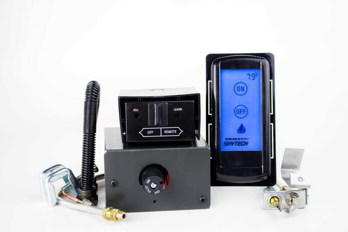 Skytech AF-LMF/RD Manual On/Off Gas Valve Kit with On/Off Touch Screen Remote
