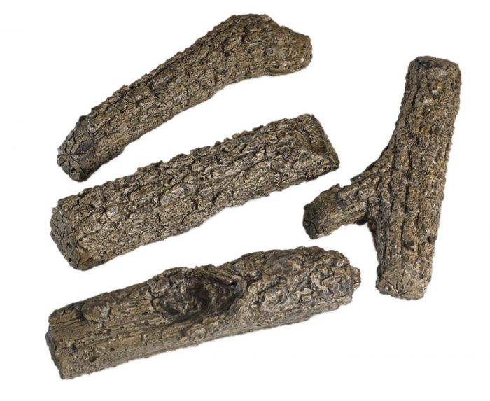 Real Fyre BR-2 Oak Branches, 9-Inch, Set of Two