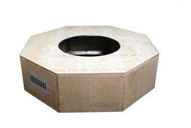 Hearth Products Controls Octagon 45 Inch Unfinished Fire Pit Enclosures