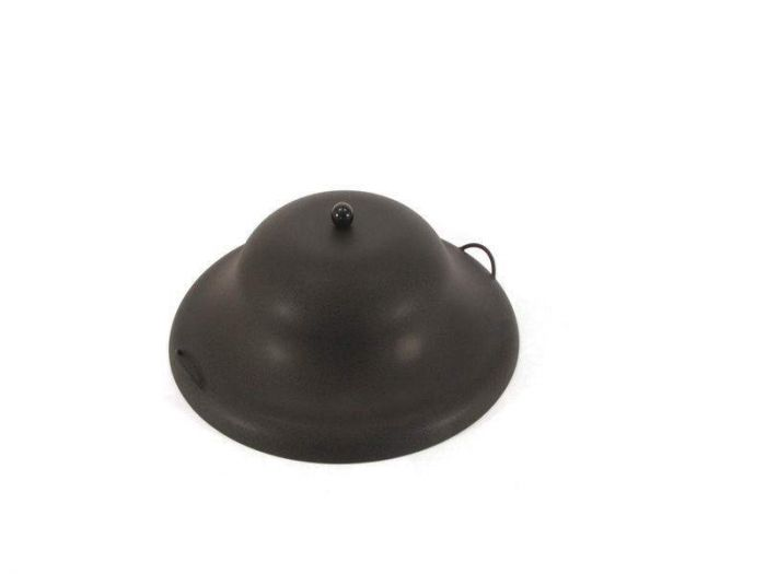Hearth Products Controls Round Aluminum Fire Pit Cover, 33 Inch, Black