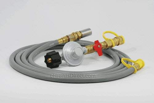 Hearth Products Controls 20 lb Propane (LP) Tank Regulator Kit and 12-Foot Hose