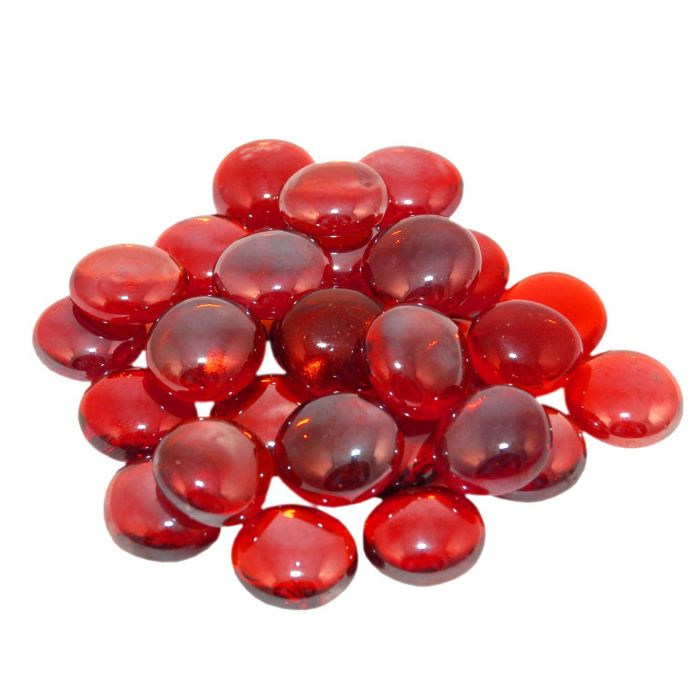 Real Fyre GLG-10-RY Ruby Fyre Gems, 10 Pounds