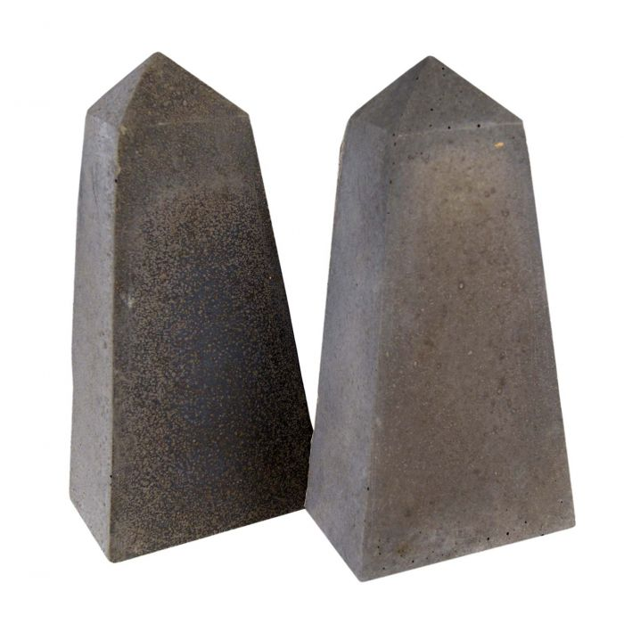 Real Fyre Geometric Fireplace and Fire Pit Stones, Obelisks