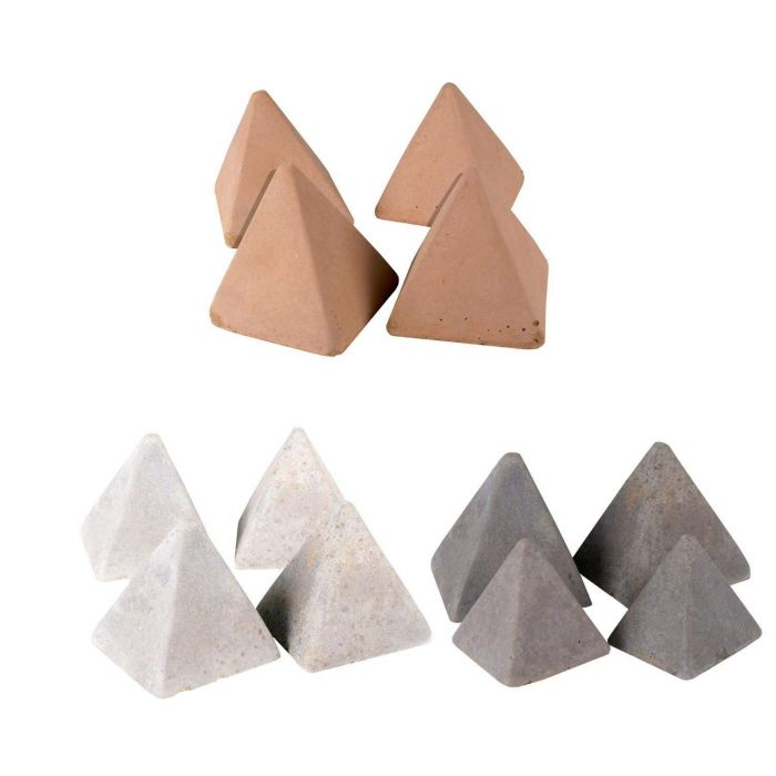 Real Fyre Geometric Fireplace and Fire Pit Stones, Pyramids