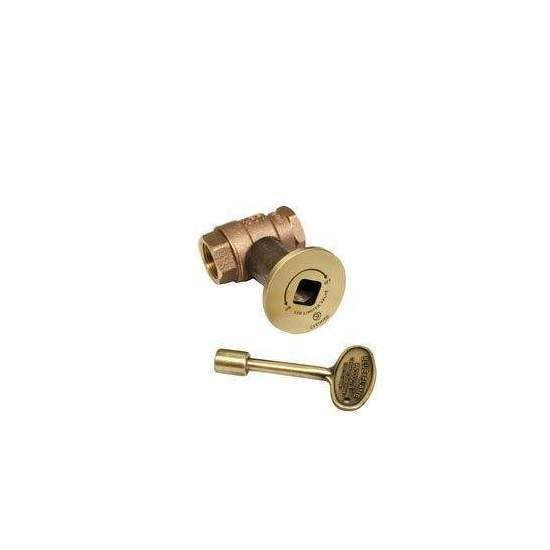 Hearth Products Controls 3/4 Inch Straight Gas Fire Pit Shut Off Valve Kits