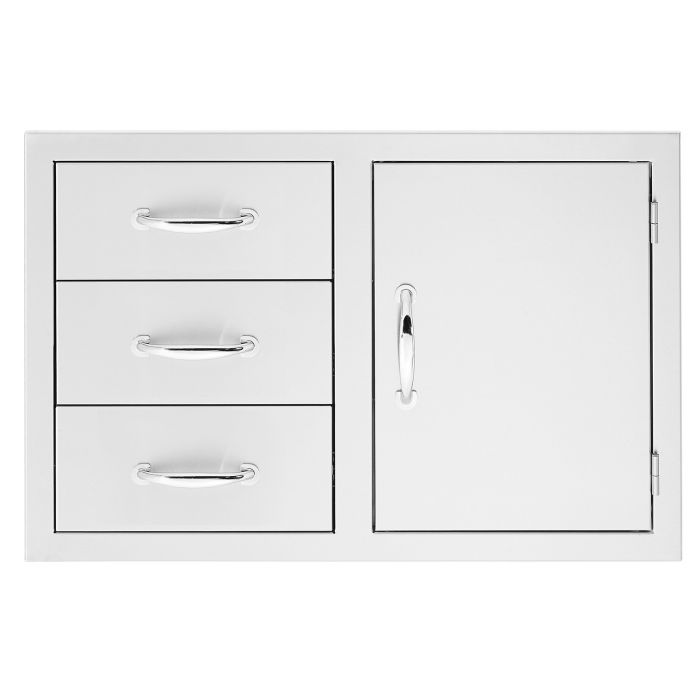 Summerset Door 3-Drawer Combo