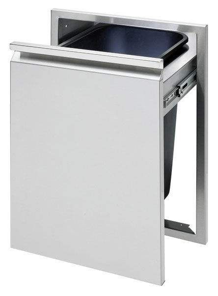 Twin Eagles 18 Inch Tall Trash Drawer, (Trash Can Included)