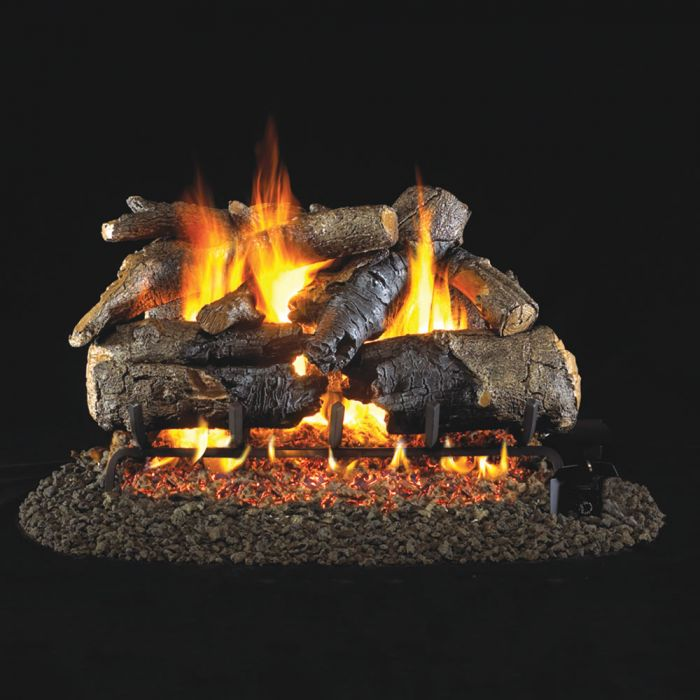 Real Fyre CHAO Charred American Oak Vented Gas Logs