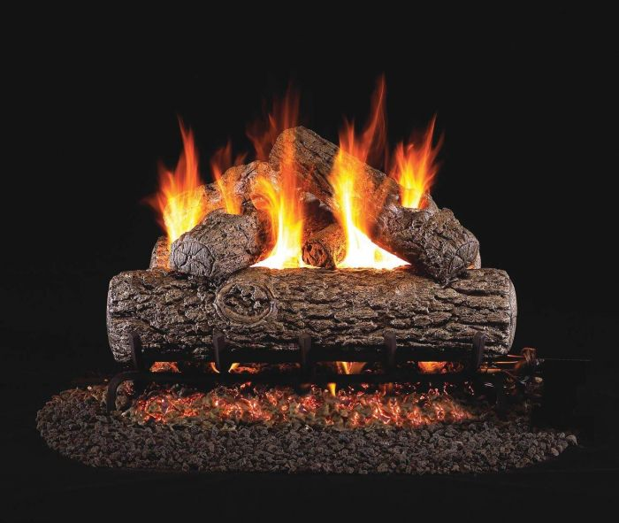 Real Fyre R Golden Oak Vented Gas Log Set