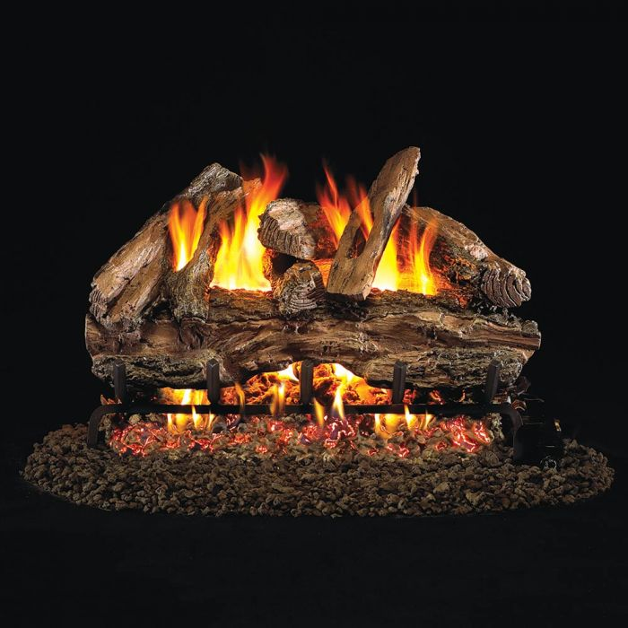 Real Fyre RED Red Oak Vented Gas Logs